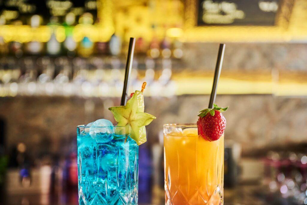 Cocktails in der Largo Bar in Neusiedl/See