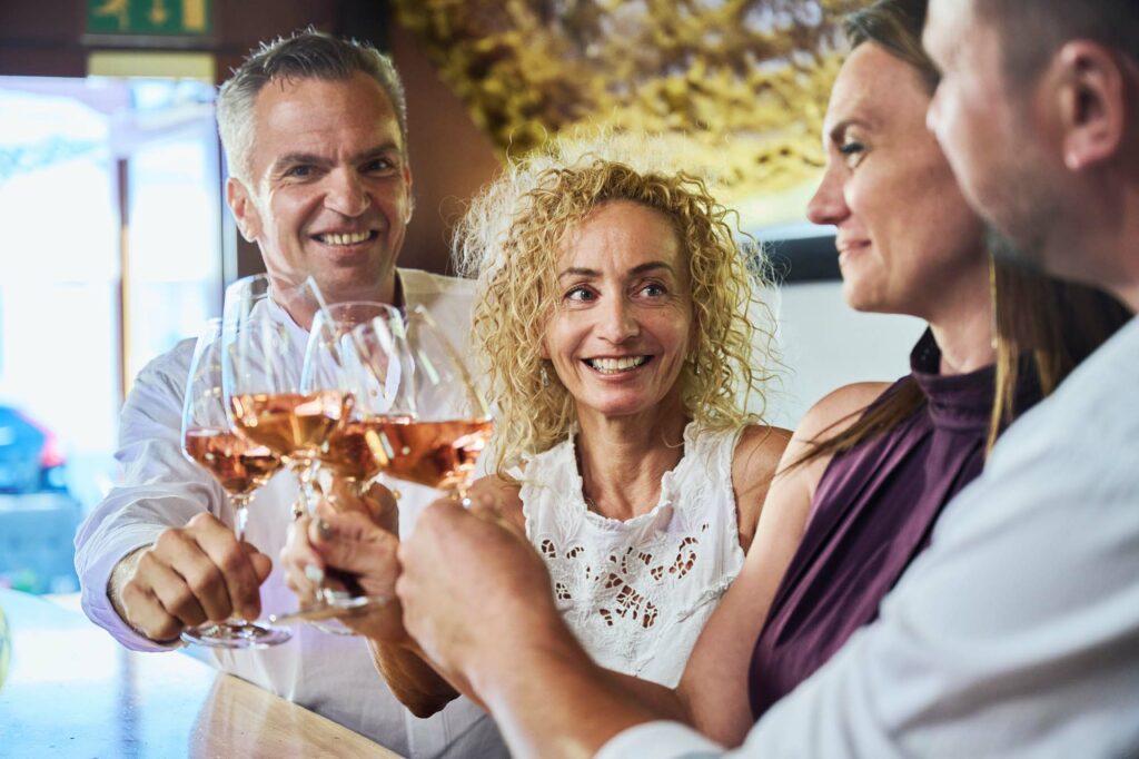 Wein genießen in der Largo Weinbar am Neusiedler See